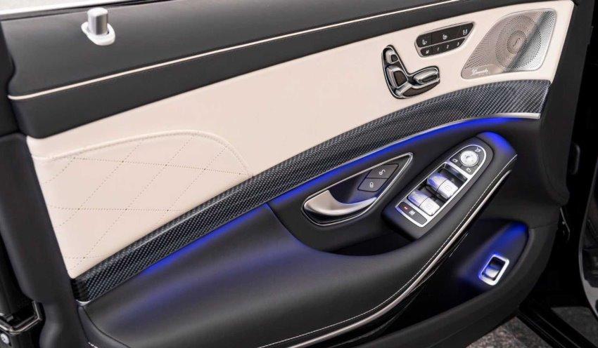 تریم داخلی مرسدس میباخ S650