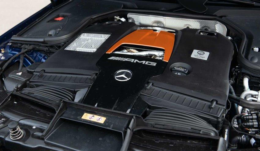 موتور جای پاور مرسدس GT 63