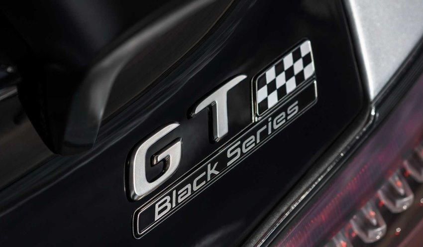 لوگوی مرسدس AMG GT بلک سریز