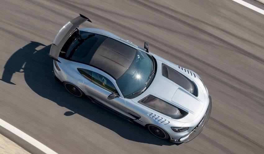 سقف مرسدس AMG GT بلک سریز